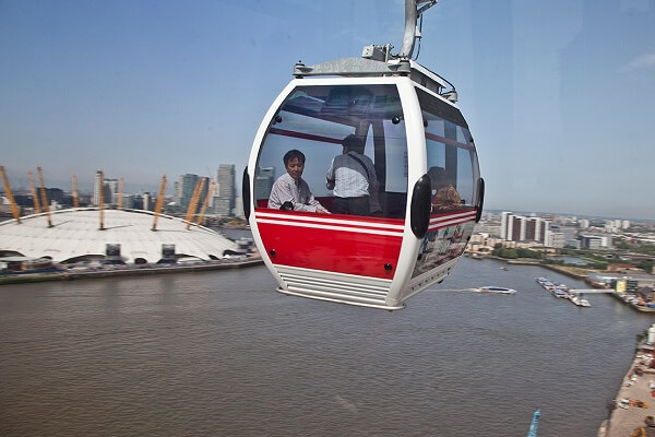 In-depth insight: Know all about UK's first Urban Cable Car Emirates Airline London