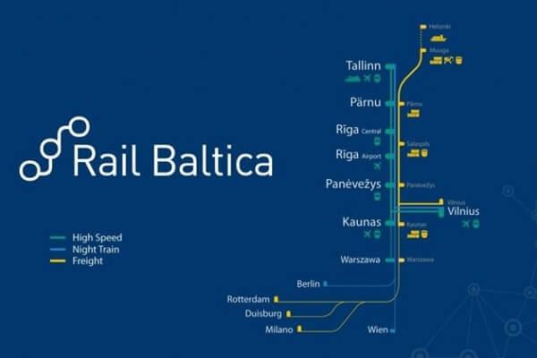 Kaunas railway node engineering infrastructure development plan for Rail Baltica project