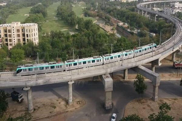 GR Infra and SAM India submit bids for construction of Noida-Gr. Noida Metro Extn corridor
