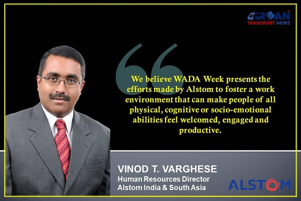 Interaction with Vinod T. Varghese, Human Resources Director, Alstom India & South Asia
