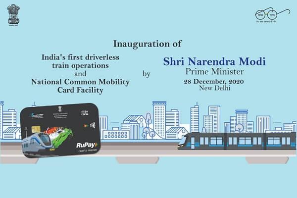 PM Narendra Modi launches first ever driverless train in India