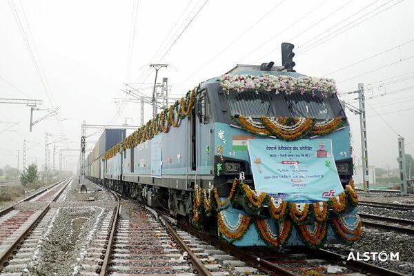 PM Modi inaugurates Rewari-Madar section of Western Dedicated Freight Corridor