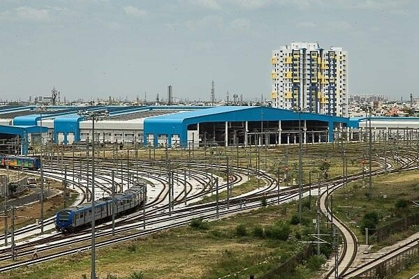 Tender invited for construction of Poonamallee depot of Chennai Metro Rail Project