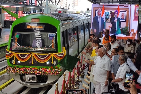 Bangalore Metro opens 6-km Yelachenahalli - Silk Institute section for commercial service