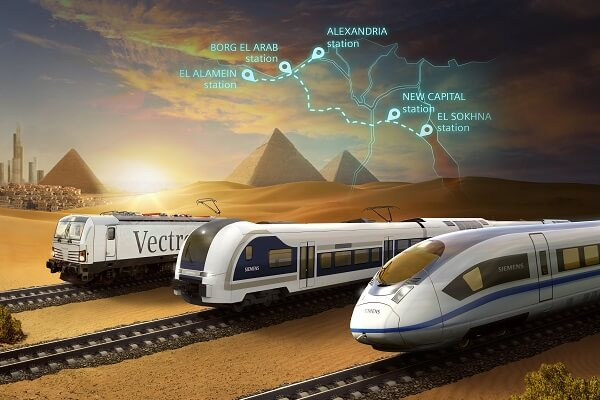Siemens Mobility signs MoU to design Egypt's first ever High-Speed Rail System