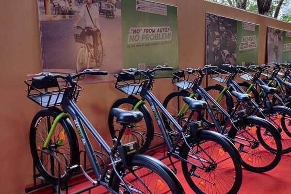 Mumbai Metro One launches Bicycle service as last mile connectivity for commuters