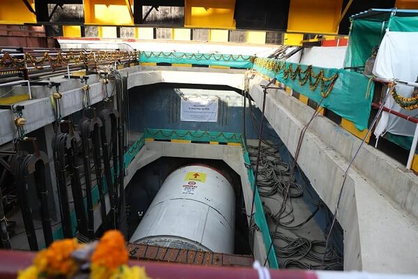 Delhi Metro begins first tunneling drive of Phase 4 on Vikaspuri-Krishna Park Extn line