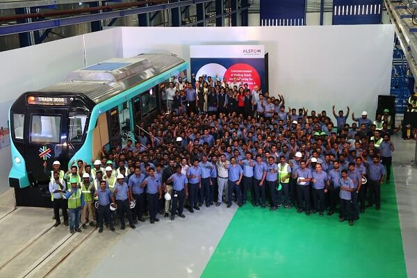 Alstom recognised as a Top Employer 2021 in Mobility Sector in India