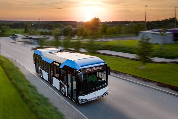 Solaris to supply Hydrogen Buses for the German City of Frankfurt