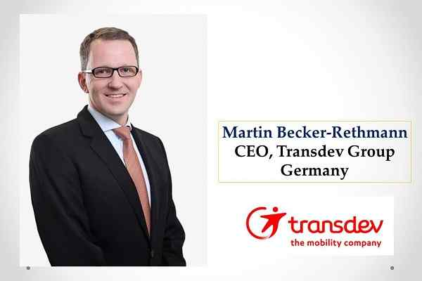 Martin Becker-Rethmann appointed as Chief Executive Officer of Transdev Group Germany