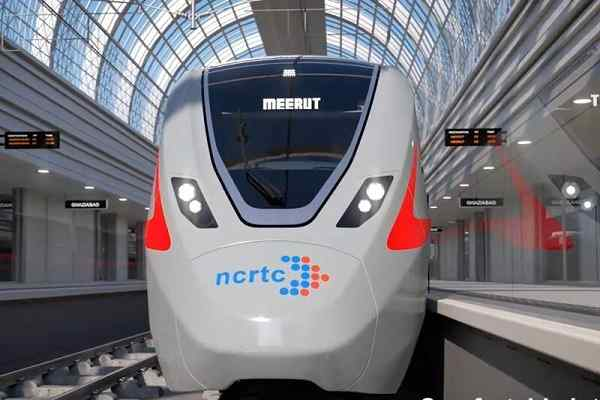 Wabtec to provide major rolling stock components for Delhi-Meerut RRTS Train