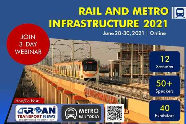 Speaking, sponsorship and exhibition opportunities at Rail & Metro Infrastructure 2021