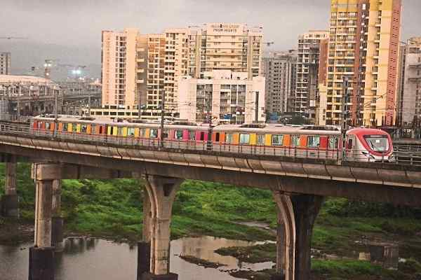 CIDCO conducts trial run test for Navi Mumbai Metro Project