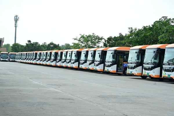 Ahmedabad BRTS added 50 new electric buses in fleet