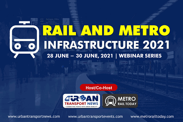 Come and talk about your innovative solutions at Rail and Metro Infrastructure 2021