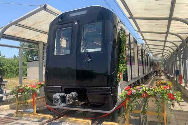 Titagarh Firema rolls out first trainset for Pune Metro Project