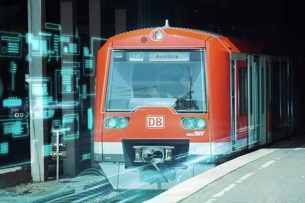 DB and Siemens launch world's first automated driverless train in Germany