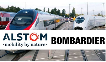 Alstom signs agreement to acquire 100% stack of Bombardier Transportation